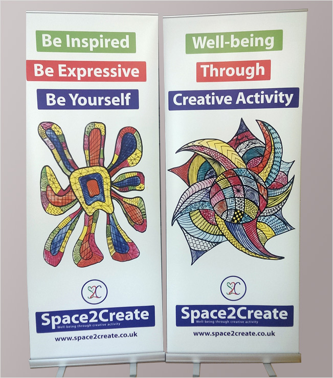 Space2Create Banner Ads